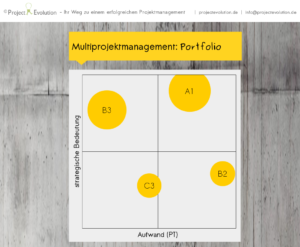 Multiprojektmanagement Portfolio