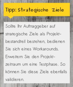 Tipp strategische Ziele